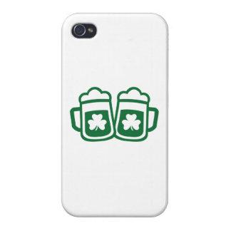 Green irish beer iPhone 4 covers