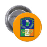 Green Irish Beer is Here Buttons