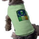 Green Irish Beer is Here Pet Shirt