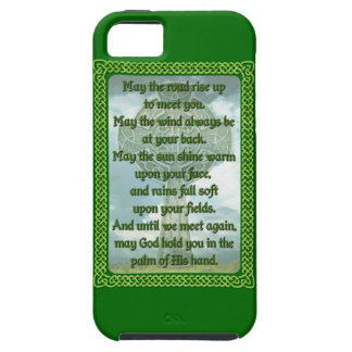 Green Irish Blessing iPhone SE/5/5s Case