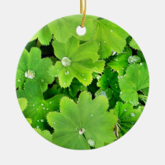 Green Irish Blessing Ornament