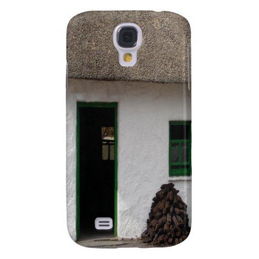 Green Irish Cottage Galaxy S4 Case