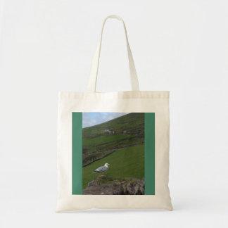 Green Irish Country Side Ireland Tote Bag