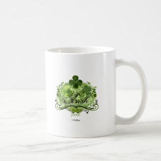 Green Irish Flourish T-shirt Coffee Mug