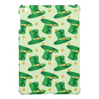 Green Irish Hat pattern , st patrick's day design iPad Mini Cover