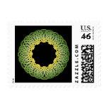 Green Irish Knotwork Stamp