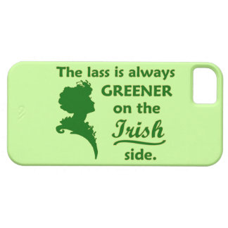 Green Irish Lass iPhone SE/5/5s Case