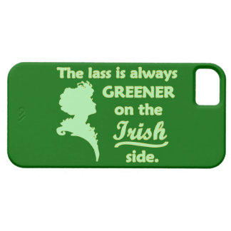 Green Irish Lass iPhone SE/5/5s Case
