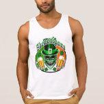 Green Irish Leprechaun Skull: Shenanigans 1 Tanktop