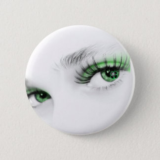 Green Irish Pinback Button