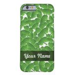 Green Irish shamrocks personalized iPhone 6 Case