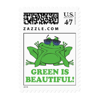 Green is Beautiful Postage