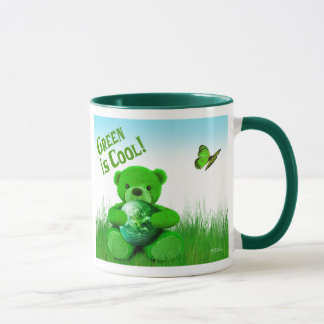 Green is Cool! Mug