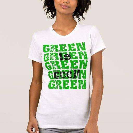 GREEN is cool Tees