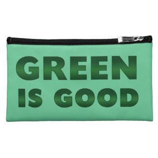 Green is Good Makeup Bags