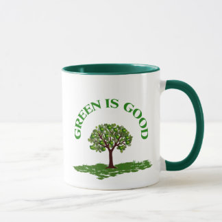 Green is good mug
