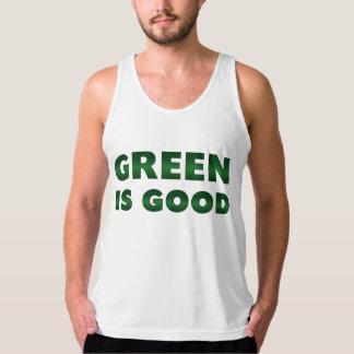 Green is Good Tank Top