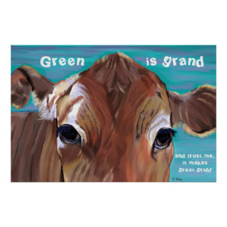 Green is Grand poster