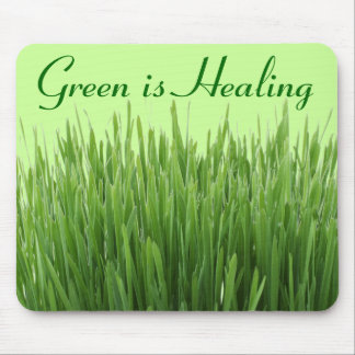 green is healing mousepad