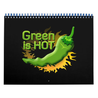 Green is HOT Calendar
