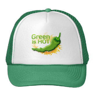 Green is HOT Trucker Hat