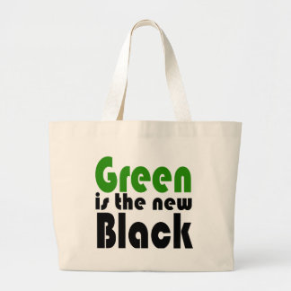 Green is the new black bag