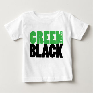 Green is the new black cute infant t-shirt