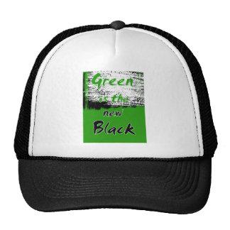 Green Is The New Black Trucker Hat
