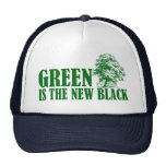 Green Is The New Black Mesh Hats
