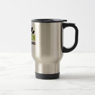 GREEN IS THE NEW BLACK - COFFEE MUG