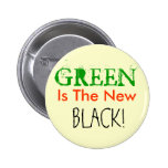 GREEN, Is The New, BLACK! Pins