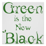 Green is the New Black Poster