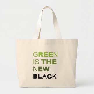 GREEN IS THE NEW BLACK SOLID BAG