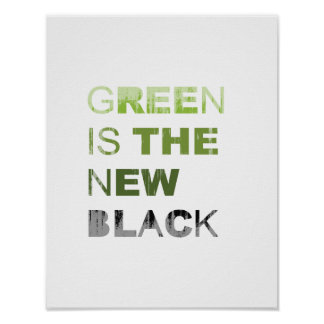 GREEN IS THE NEW BLACK SOLID Faded.png Poster