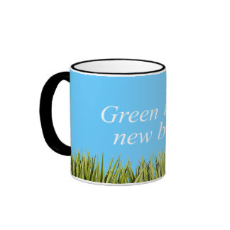 Green is the new blue mugs
