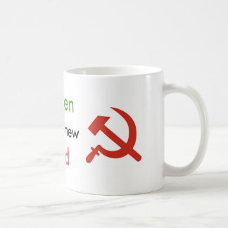 Green is the new Red Coffe Mug