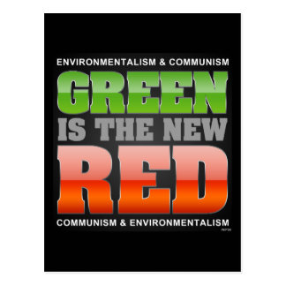 Green Is The New Red Postcard