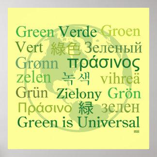 Green is Universal Print