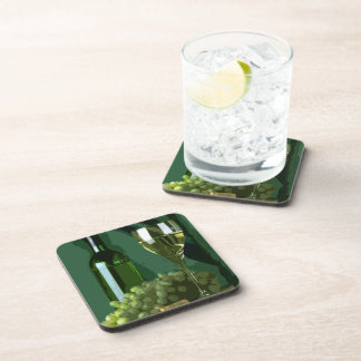 Green is White Beverage Coaster