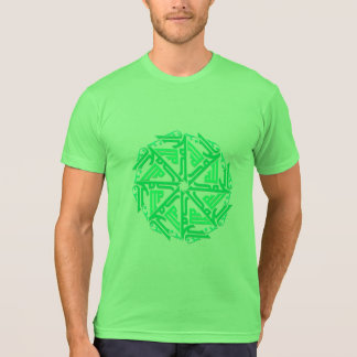 Green Islamic Decoration Men's T-Shirt
