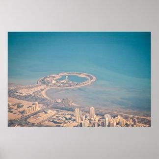 Green island, Kuwait Poster