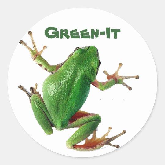 Green-It Sticker