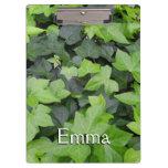 Green Ivy Botanical Print Clipboard