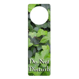 Green Ivy Botanical Print Door Hanger