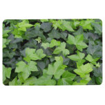 Green Ivy Botanical Print Floor Mat