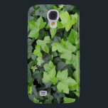 "Green Ivy Botanical Print Galaxy S4 Case<br><div class=""desc"">I like simple pictures full of nature. This product is covered in deep green English ivy.  Check out our store for more photos of wonderfully interesting plants.  This picture is also featured as the widescreen wallpaper &quot;Green Ivy&quot; from www.mlewallpapers.com.</div>"