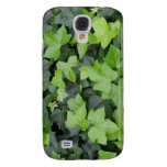 Green Ivy Botanical Print Galaxy S4 Case