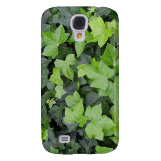 Green Ivy Botanical Print Galaxy S4 Case