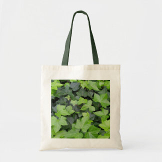 Green Ivy Botanical Print Tote Bag