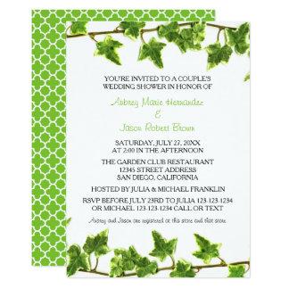 Green Ivy - Couple's Wedding Shower Invitation